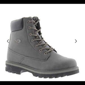 Lugz grey boot size 12